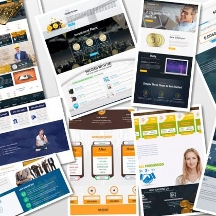 100 Professional Goldcoders Hyip Manager Theme Only $199