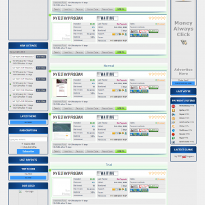 Hyip Monitor Themes